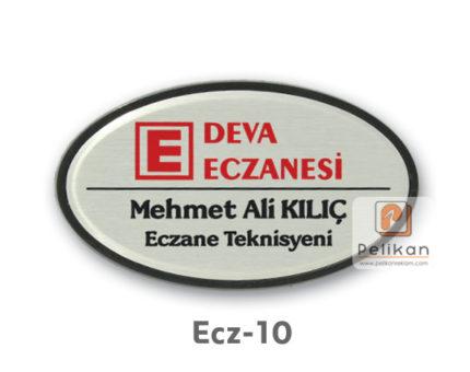 Eczane isimlik fiyatları