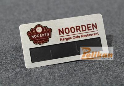 garson yaka kartı